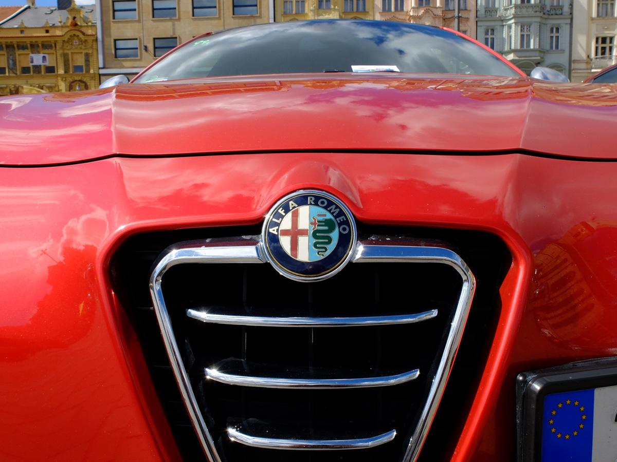Evropský sraz vozů Alfa Romeo Plzni 2015