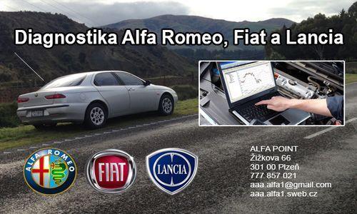 Diagnostika vozů Alfa Romeo nově i v Plzni
