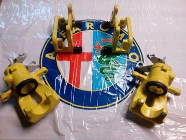 Repase brzdičů - Alfa Romeo