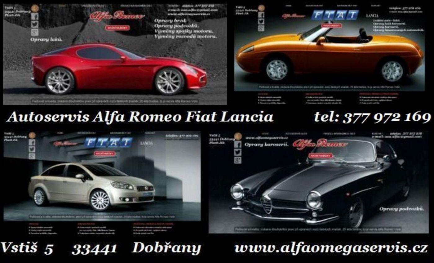 servis Alfa Romeo Fiat Lancia