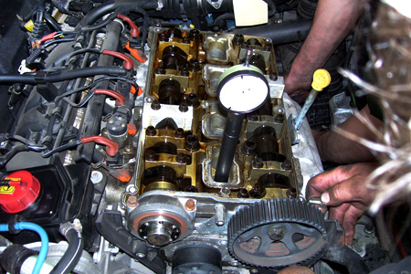 Výměna rozvod motoru Alfa Romeo