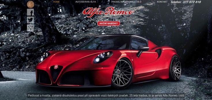 Alfa Romeo Fiat Lancia servis Plzeň