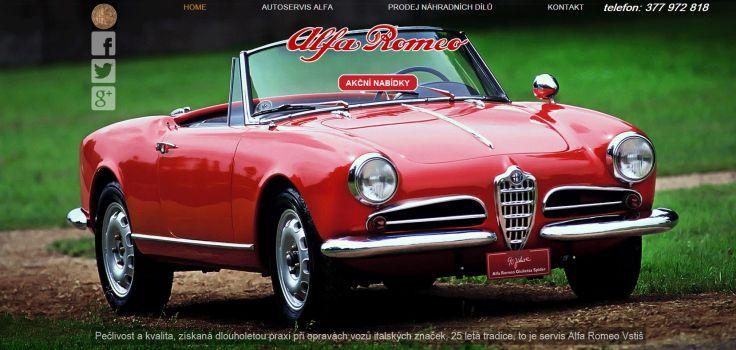 servis Alfa Romeo Plzeň