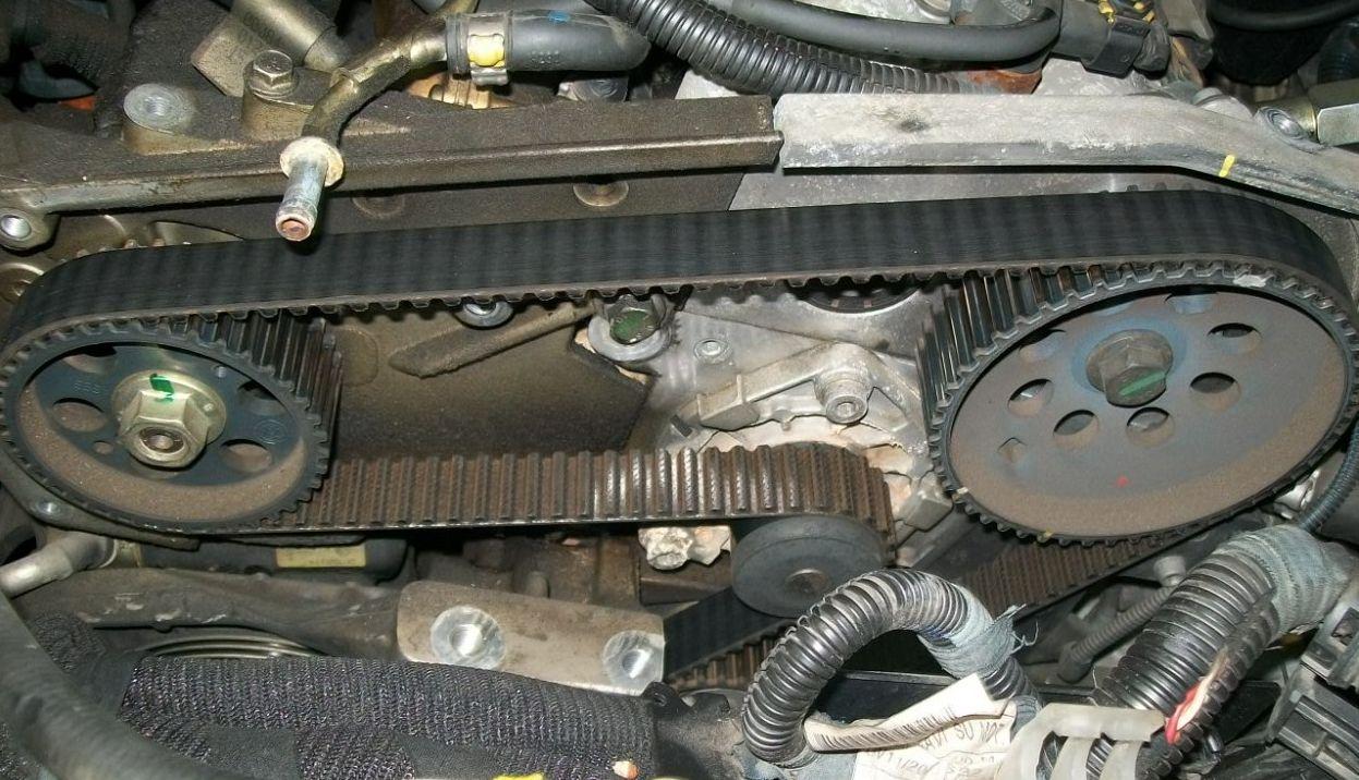 Výměna rozvodu motoru